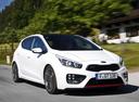 Фото авто Kia Cee'd 2 поколение, ракурс: 315 цвет: белый