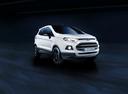 Фото авто Ford EcoSport 2 поколение, ракурс: 315 цвет: белый
