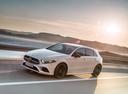 Фото авто Mercedes-Benz A-Класс W177/V177, ракурс: 45 цвет: белый