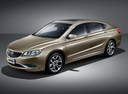 Фото авто Geely Emgrand GT 1 поколение, ракурс: 45 цвет: коричневый