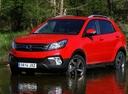 Фото авто SsangYong Korando 3 поколение [2-й рестайлинг], ракурс: 45 цвет: красный