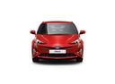 Фото авто Toyota Prius 4 поколение,  цвет: красный