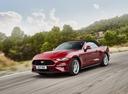 Фото авто Ford Mustang 6 поколение [рестайлинг], ракурс: 45 цвет: красный