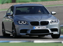 Фото авто BMW M5 F10 [рестайлинг],  цвет: серый