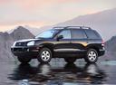 Фото авто Hyundai Santa Fe SM [рестайлинг], ракурс: 90 цвет: черный