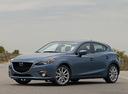 Фото авто Mazda 3 BM, ракурс: 45 цвет: синий