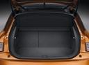 Фото авто Audi A1 8X, ракурс: багажник цвет: оранжевый