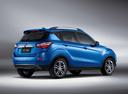Фото авто Changan CS35 1 поколение, ракурс: 225 - рендер цвет: синий