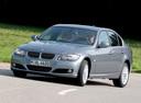Фото авто BMW 3 серия E90/E91/E92/E93 [рестайлинг], ракурс: 45 цвет: серебряный