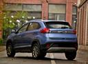 Фото авто Chery Tiggo 2 1 поколение, ракурс: 135 цвет: голубой