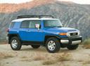 Фото авто Toyota FJ Cruiser 1 поколение, ракурс: 315 цвет: синий