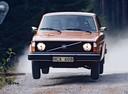 Фото авто Volvo 240 1 поколение,  цвет: оранжевый