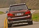 Фото авто Mercedes-Benz GL-Класс X166, ракурс: 180 цвет: коричневый