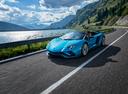Фото авто Lamborghini Aventador 1 поколение [рестайлинг], ракурс: 45 цвет: голубой