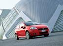 Фото авто Fiat Punto 3 поколение, ракурс: 315 цвет: красный