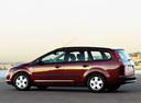 Фото авто Ford Focus 2 поколение, ракурс: 135 цвет: бордовый