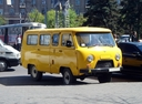 Фото авто УАЗ 452 2 поколение, ракурс: 315 цвет: желтый