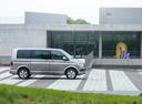 Фото авто Volkswagen Multivan T6, ракурс: 270 цвет: бежевый