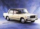 Фото авто ВАЗ (Lada) 2107 1 поколение, ракурс: 315 - рендер цвет: бежевый