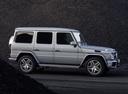 Фото авто Mercedes-Benz G-Класс W463 [2-й рестайлинг], ракурс: 270 цвет: серебряный