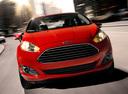 Фото авто Ford Fiesta 6 поколение [рестайлинг],  цвет: красный