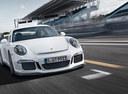 Фото авто Porsche 911 991 [рестайлинг],  цвет: белый
