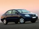 Фото авто Toyota Corolla E120, ракурс: 315 цвет: синий