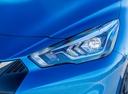 Фото авто Nissan Micra K14, ракурс: передние фары цвет: синий