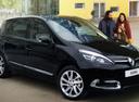 Фото авто Renault Scenic 3 поколение [2-й рестайлинг], ракурс: 315 цвет: черный