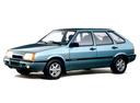 Фото авто ВАЗ (Lada) 2109 1 поколение [рестайлинг], ракурс: 45 цвет: голубой