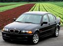 Фото авто BMW 3 серия E46, ракурс: 45 цвет: черный