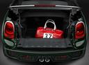 Фото авто Mini Cabrio F57, ракурс: двигатель цвет: зеленый