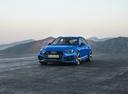 Фото авто Audi RS 4 B9, ракурс: 45 цвет: голубой
