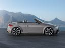 Фото авто Audi TT 8S, ракурс: 270 цвет: серый