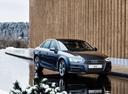 Фото авто Audi A4 B9, ракурс: 315 цвет: синий