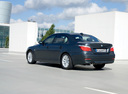 Фото авто BMW 5 серия E60/E61 [рестайлинг], ракурс: 135 цвет: синий