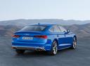 Фото авто Audi S5 F5, ракурс: 225 цвет: голубой