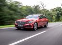 Фото авто Mercedes-Benz E-Класс W213/S213/C238/A238, ракурс: 45 цвет: красный