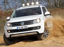 Фото авто Volkswagen Amarok 1 поколение,  цвет: белый