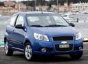 Фото авто Chevrolet Aveo T250 [рестайлинг], ракурс: 315 цвет: синий