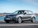 Фото авто BMW 1 серия F20/F21 [рестайлинг], ракурс: 45 цвет: серый