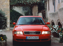 Фото авто Audi A4 B5,  цвет: красный
