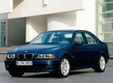 Фото авто BMW 5 серия E39 [рестайлинг], ракурс: 45 цвет: синий