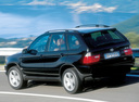 Фото авто BMW X5 E53, ракурс: 135 цвет: черный