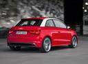 Фото авто Audi A1 8X, ракурс: 225 цвет: красный