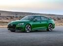 Фото авто Audi RS 5 F5, ракурс: 45 цвет: зеленый