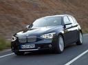 Фото авто BMW 1 серия F20/F21, ракурс: 45 цвет: синий