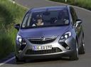 Фото авто Opel Zafira C,  цвет: серебряный