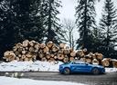 Фото авто Alpine A110 2 поколение, ракурс: 270 цвет: голубой