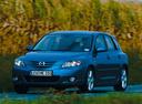 Фото авто Mazda 3 BK, ракурс: 45 цвет: синий